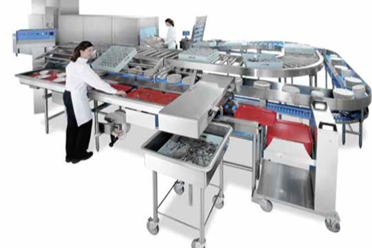 全自动食堂洗碗机客户案例