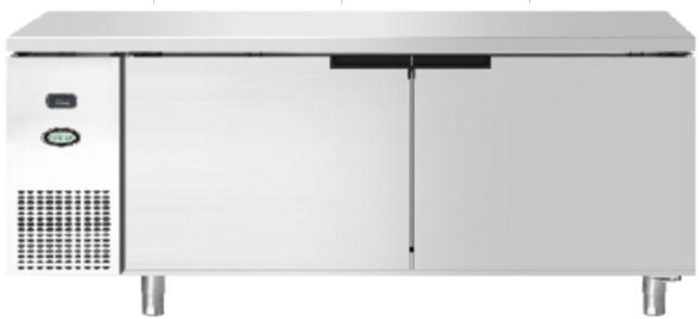 双门高温平台冷柜