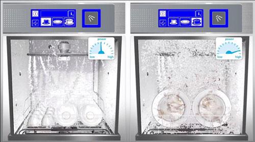 提拉式洗碗机压力调整
