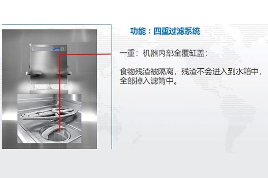 食堂洗碗机过滤系统