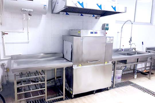 员工食堂洗碗机