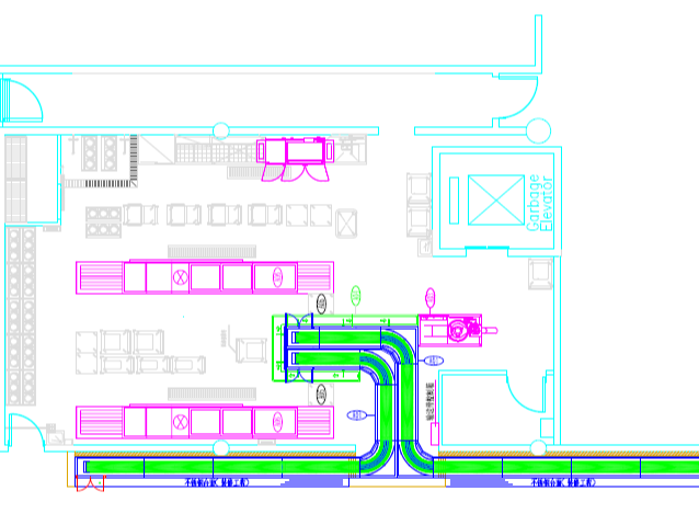 工厂食堂整体洗碗解决方案-铁西新工厂