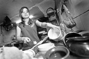 自动食堂洗碗机