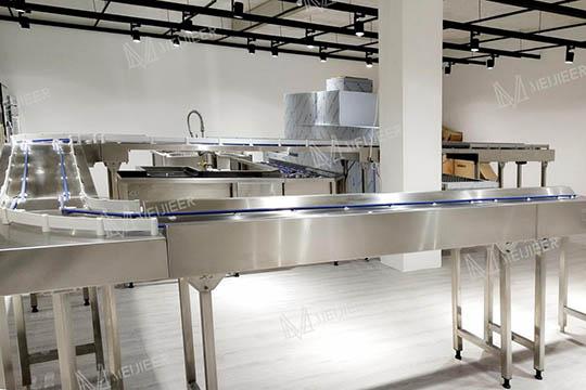长龙式食堂洗碗机及其传送带