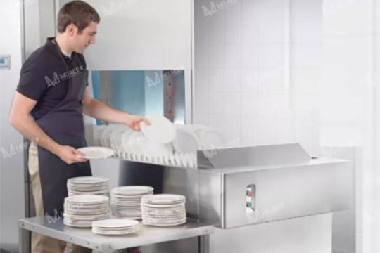 大型工厂食堂洗碗用长龙洗碗机
