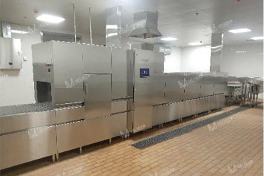 学校食堂大型洗碗机
