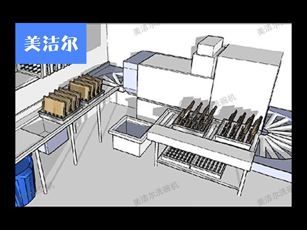 一台高效食堂自动洗碗机所应具备的特质