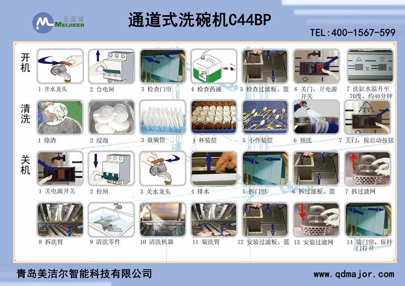 通道式洗碗机C44BP