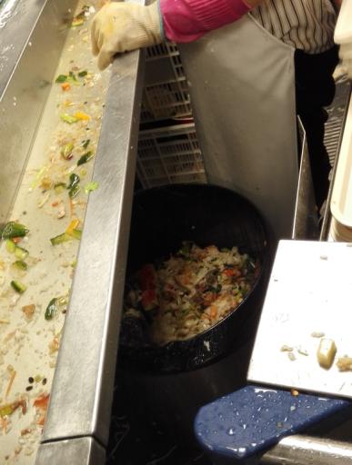 食堂用洗碗机垃圾处理系统