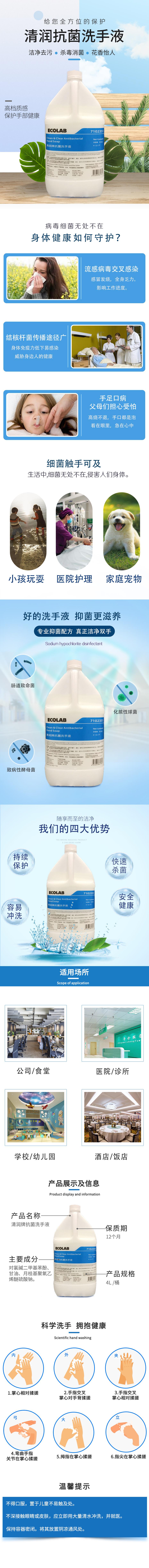 B2抗菌洗手液