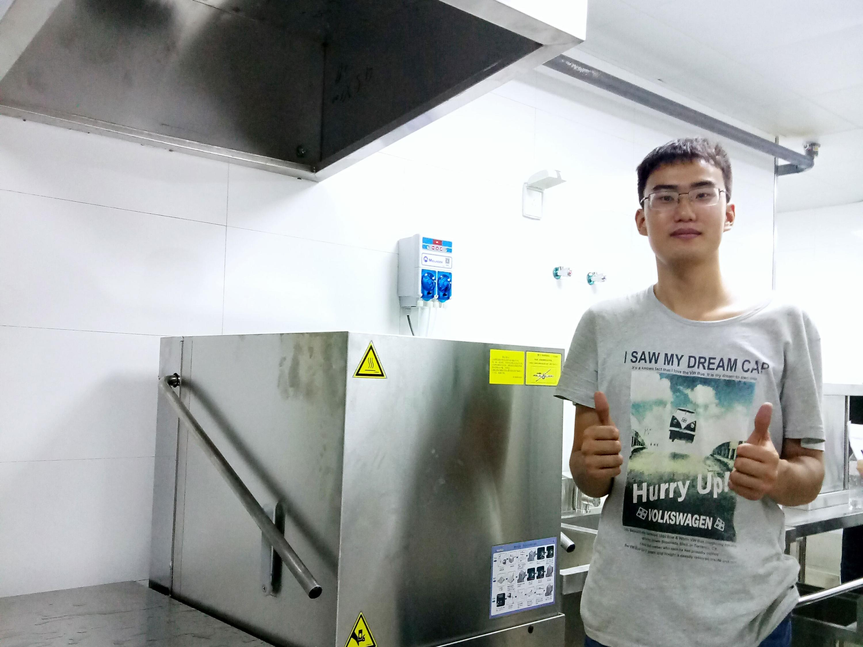 提拉式洗碗机客户案例-美洁尔
