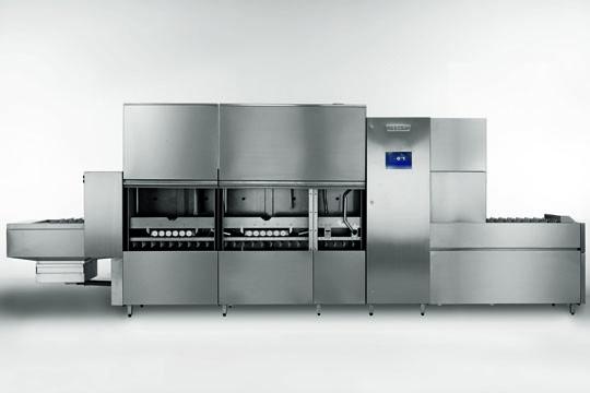 长龙式大型食堂洗碗机