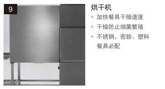 食堂洗碗机烘干机