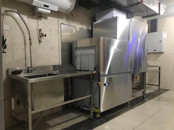 员工食堂洗碗机客户案例|青岛产业园食堂洗碗机系统解决方案