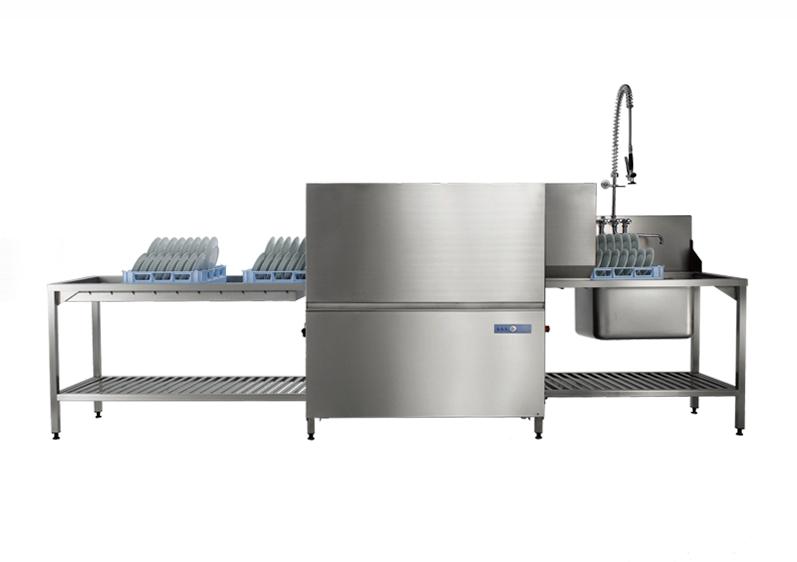 通道式洗碗机适用于300-1000人用餐